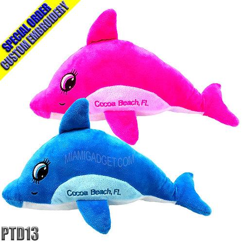"Dolphin Plush 13"""