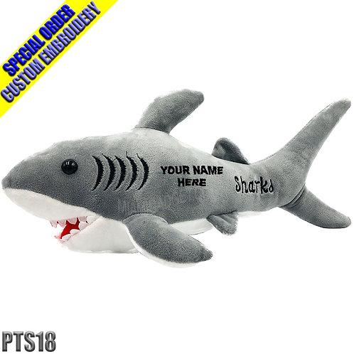 """Shark Plush 18"""""""
