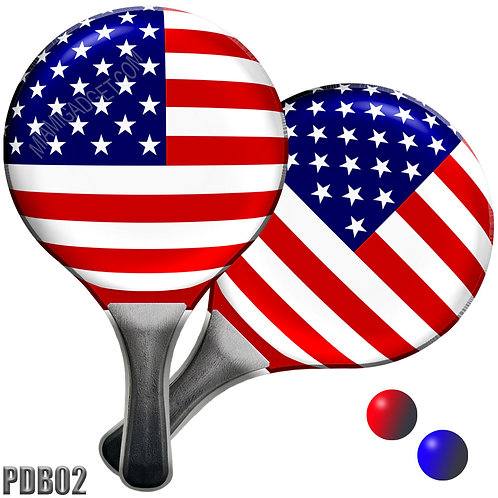 Paddle Ball Set - USA Frisbee