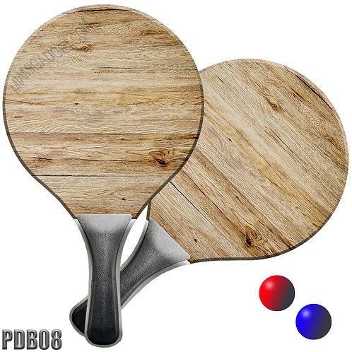 Paddle Ball Set - Wood