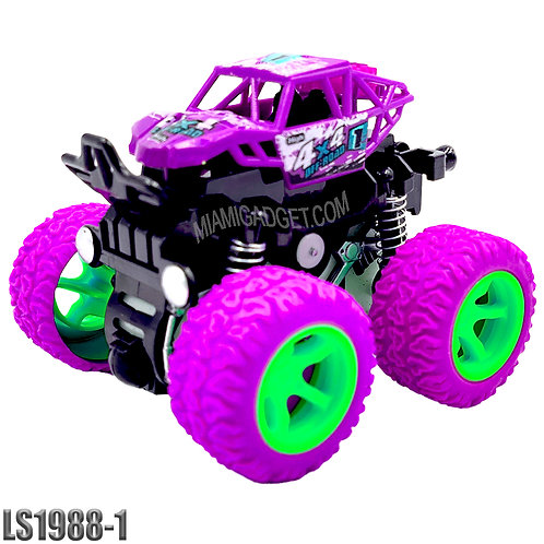 Monster Truck 4x4 - Solid Color SM