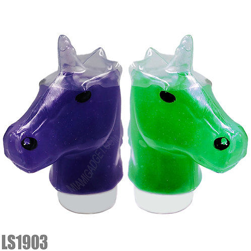 Unicorn Head Poop Slime