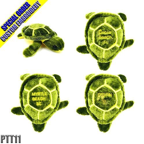 "Sea Turtle Plush 11"" Small"