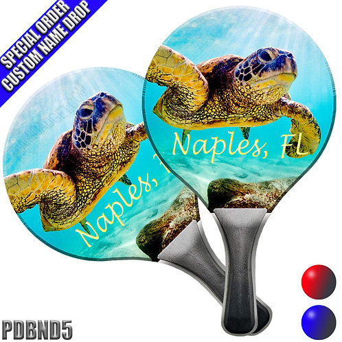Paddle Ball Set - Turtle