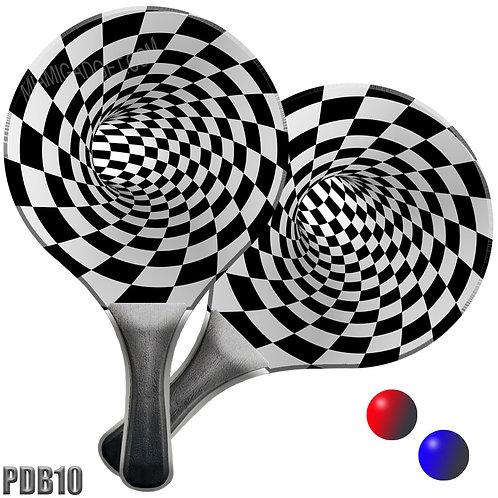 Paddle Ball Set - Checker