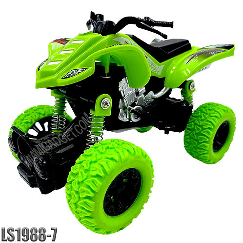 Monster ATV 4x4 Pull Back -Solid Colors LG