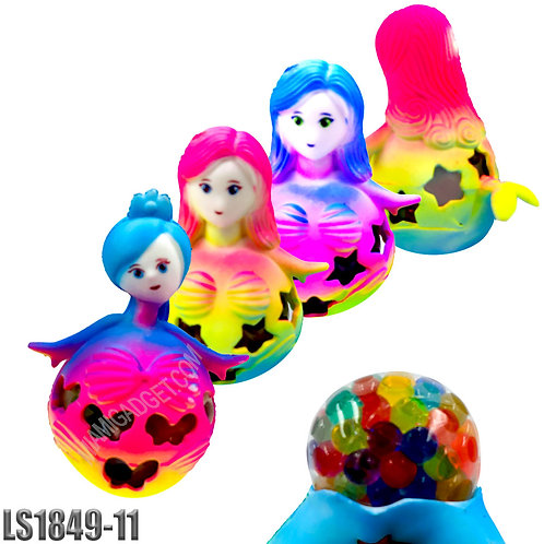 Tie-dye Mermaid Squeeze Ball