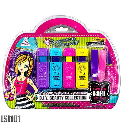 Beauty World - Dye Hair Coloring Sticks - 5 Pcs. Cosmetic Set