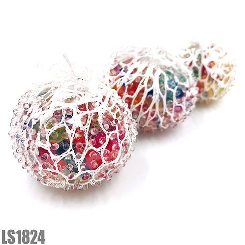 Multi Color Mesh Squeeze Ball