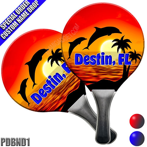 Paddle Ball Set - Dolphins