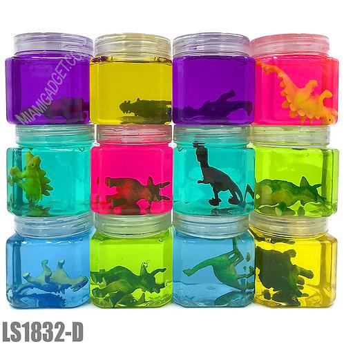 Dinosaur Figurines Slime