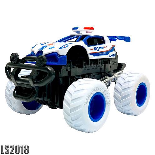 Monster 4x4 Police Cars