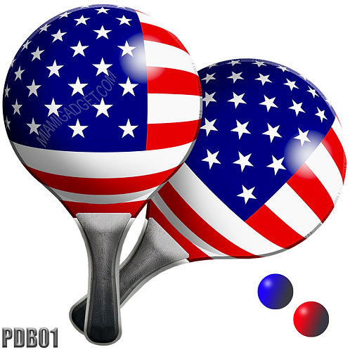 Paddle Ball Set - USA Ball