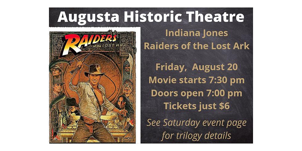 Aug 20 ~ Indiana Jones-Raiders of the Lost Ark (1st)