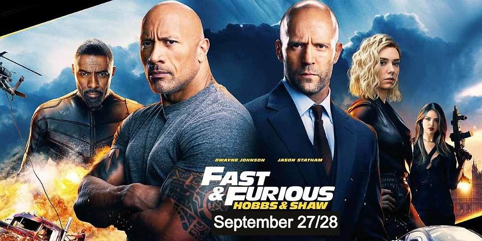 Fast & Furious: Hobbs & Shaw - $6/ticket