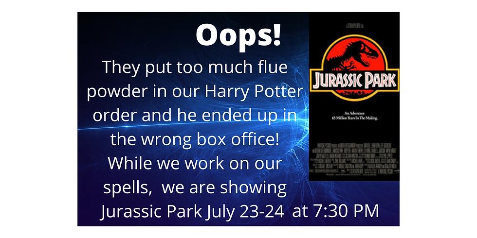July 24th - Jurassic Park