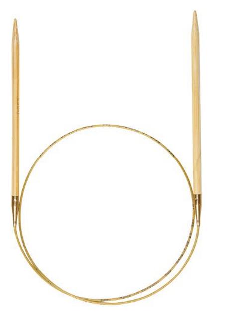Bambus  Rundstrikkepinner 3 mm