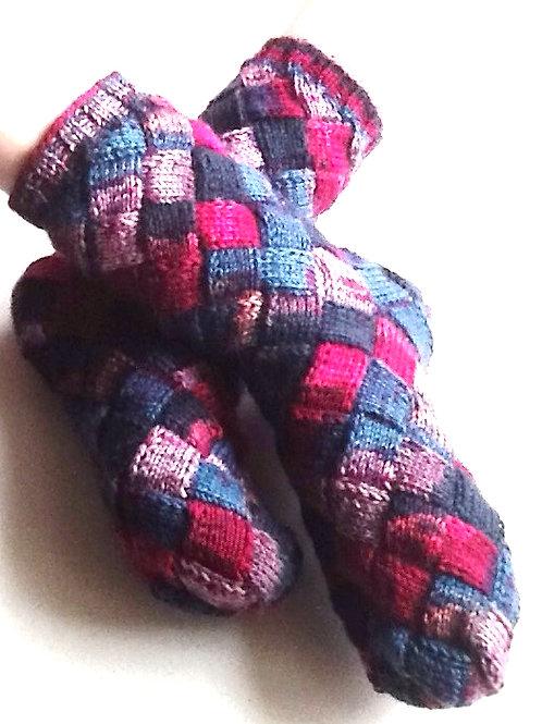 Oppskrift på sokkene Krekling