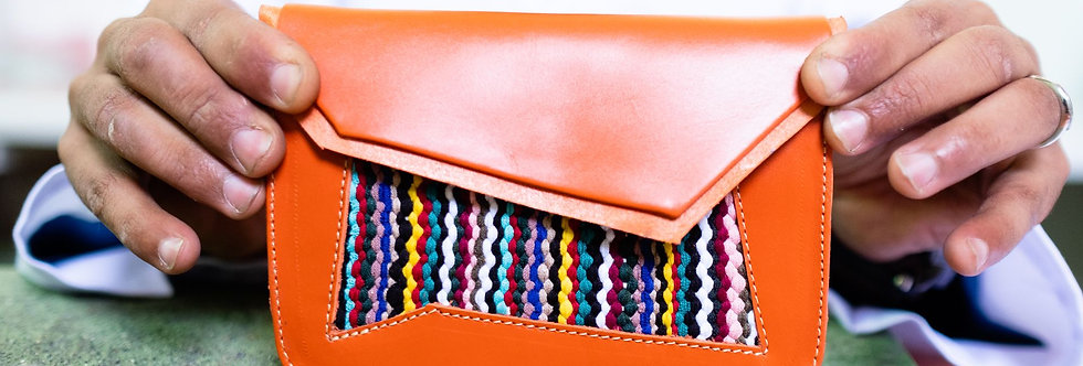 Raml - Handmade Chic Belt Bag with Moroccan Weaving