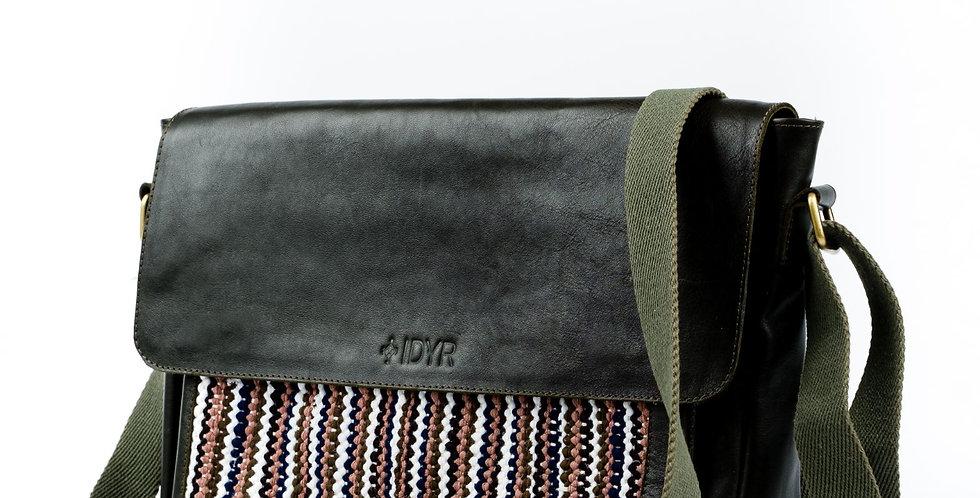 Koutheyb - Handmade Messenger Bag with Moroccan Weaving