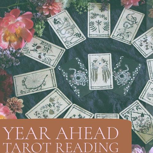 13 Card Year Ahead Reading