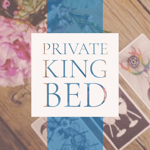 Private King Bed $999