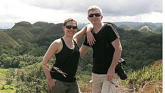 """Nos clients l'ont fait: les collines de chocolat """"Chocolate Hills"""" à Bohol"""