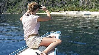 Elle l'a fait : avec l'agence Philippines-Tropicales découvrir Black Island à Busuanga