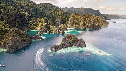 Créez votre voyage sur-mesure aux Philippines avec Philippines-Tropicales agences locale avec une base satellite à Coron-Busuanga à Palawan