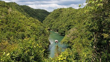Inspirez, expirez, le Nuts Huts est un grand bol d'air sur la rivière Loboc à Bohol