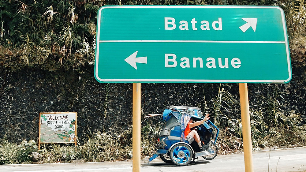 Photo du Blog Voyage Oui.Philippines ä la jonction Banaue-Batad en tricycle