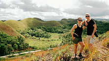 Les Chocolate Hills sans la foule c'est possible-Oui-Philippines-Tropicales