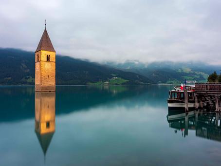 Lago di Resia - Il campanile sommerso
