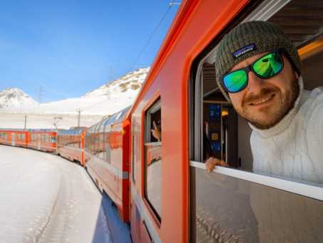 La mia esperienza sul Trenino Rosso del Bernina