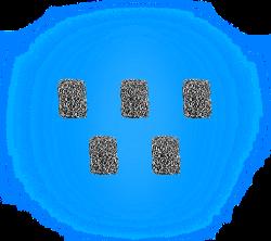 Zeus Arc רשתות חלופית 5 יחידות FLOW SINK