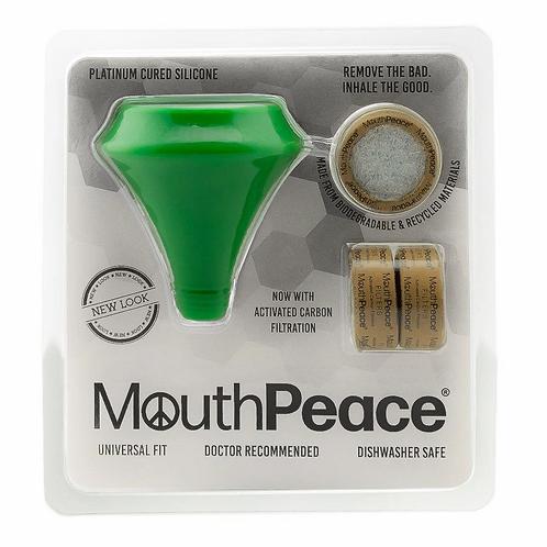 MouthPeace כולל 3 פילטרים להחלפה