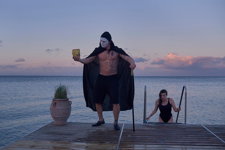 Sauna instructor Henrik Baunkjær Sørensen. Shot for Berlingske