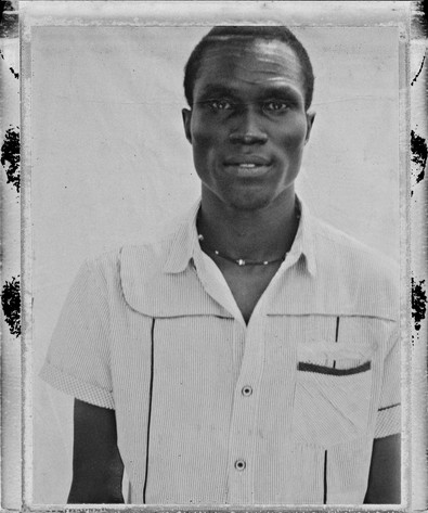 Name: Istifanus Chindong Damulak. From: Jos, Nigeria. The reason why he is in the refugee camp: Works as a pediatrician for Doctors without Borders.
