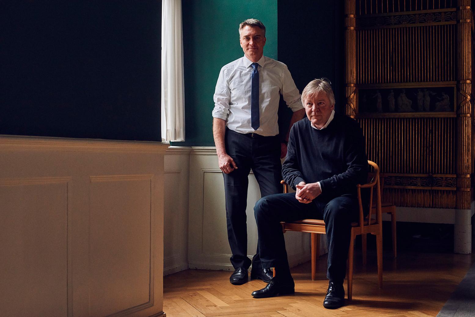 Head of Department of the Danish Finance Ministry, Mads Kieler and Lars Haagen Pedersen