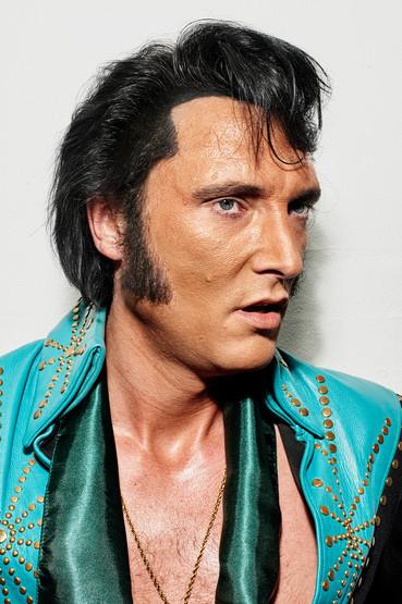 Brian Trøjborg. Danish Elvis tribute artist.