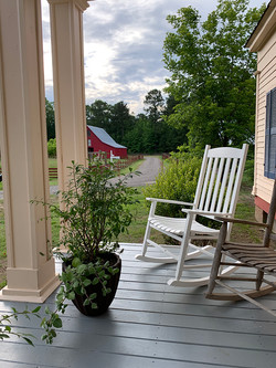 Coulter House front porch