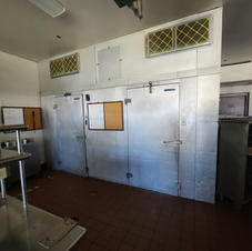 Walk-in Freezer and 2 Walk-in Coolers