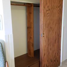 Closet in each bedroom