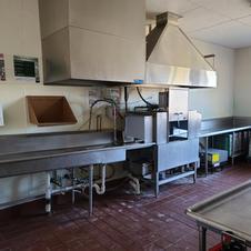 Kitchen Dishwashing area