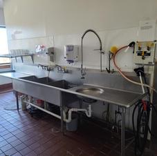 Kitchen pre-wash station