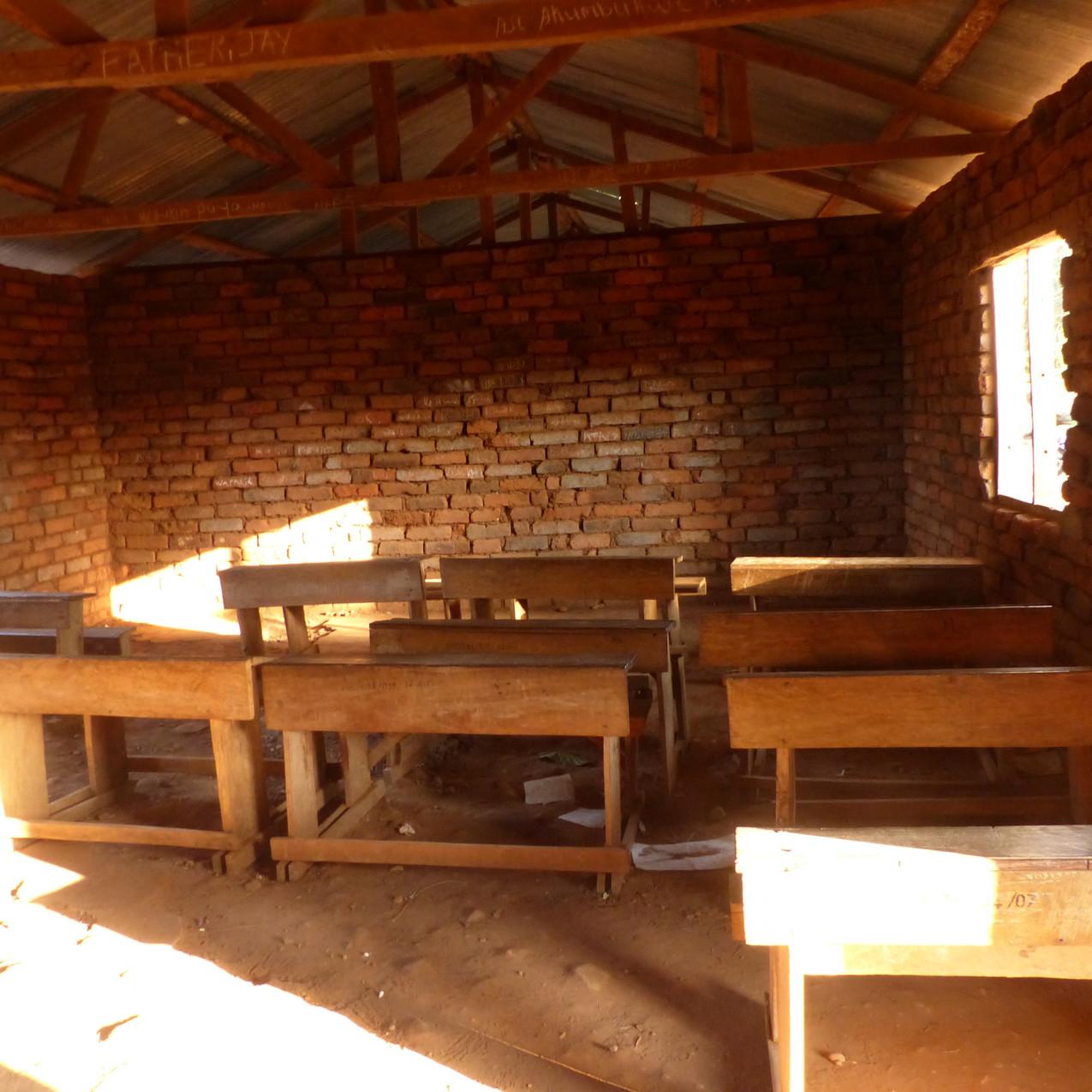 初回訪問時の教室内部