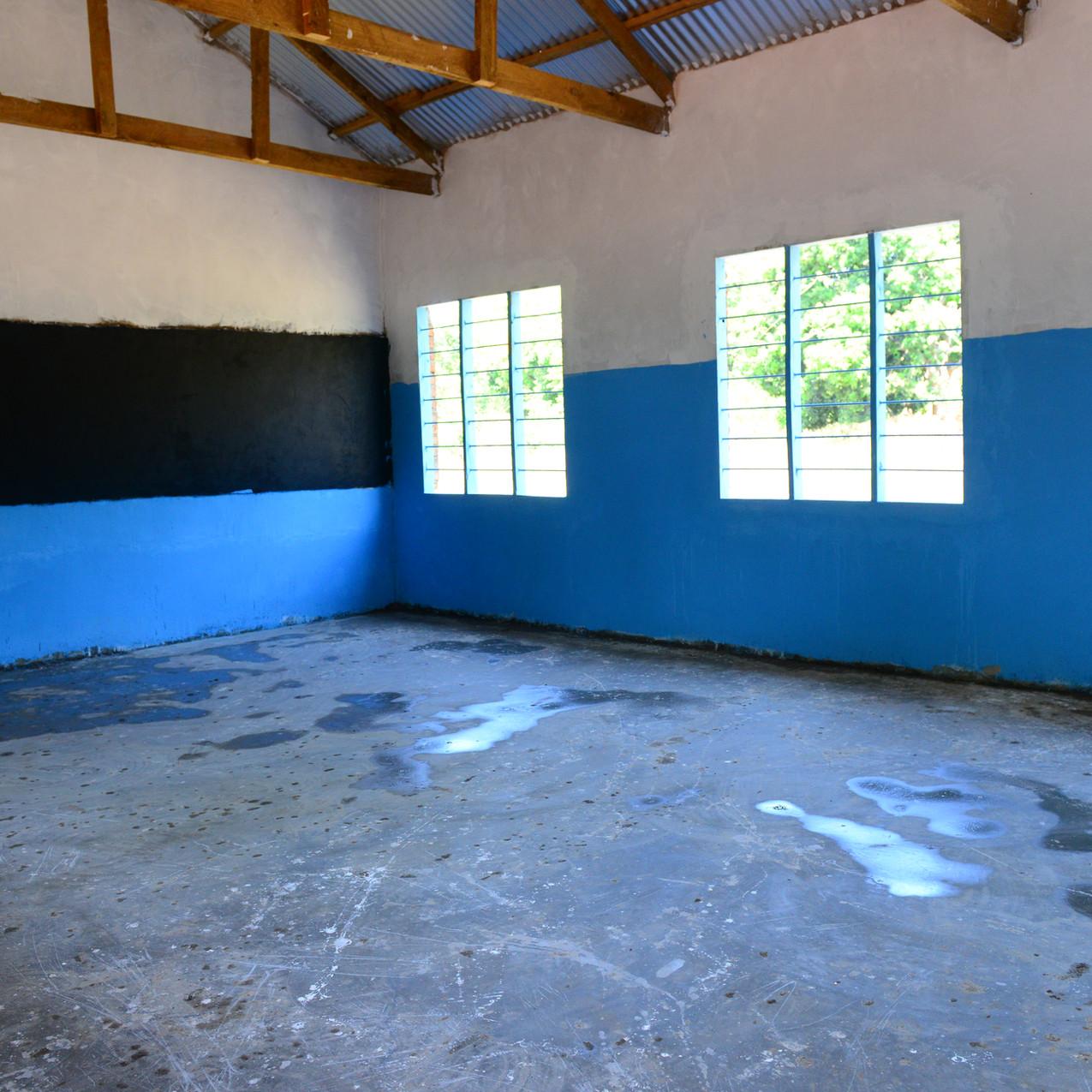 新設した教室