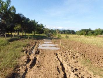 カブラ村小学校 教室建設途中報告