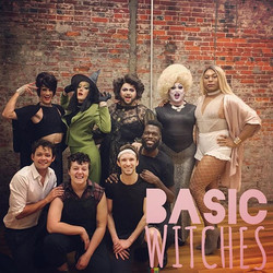 The beautiful cast of Basic Witches