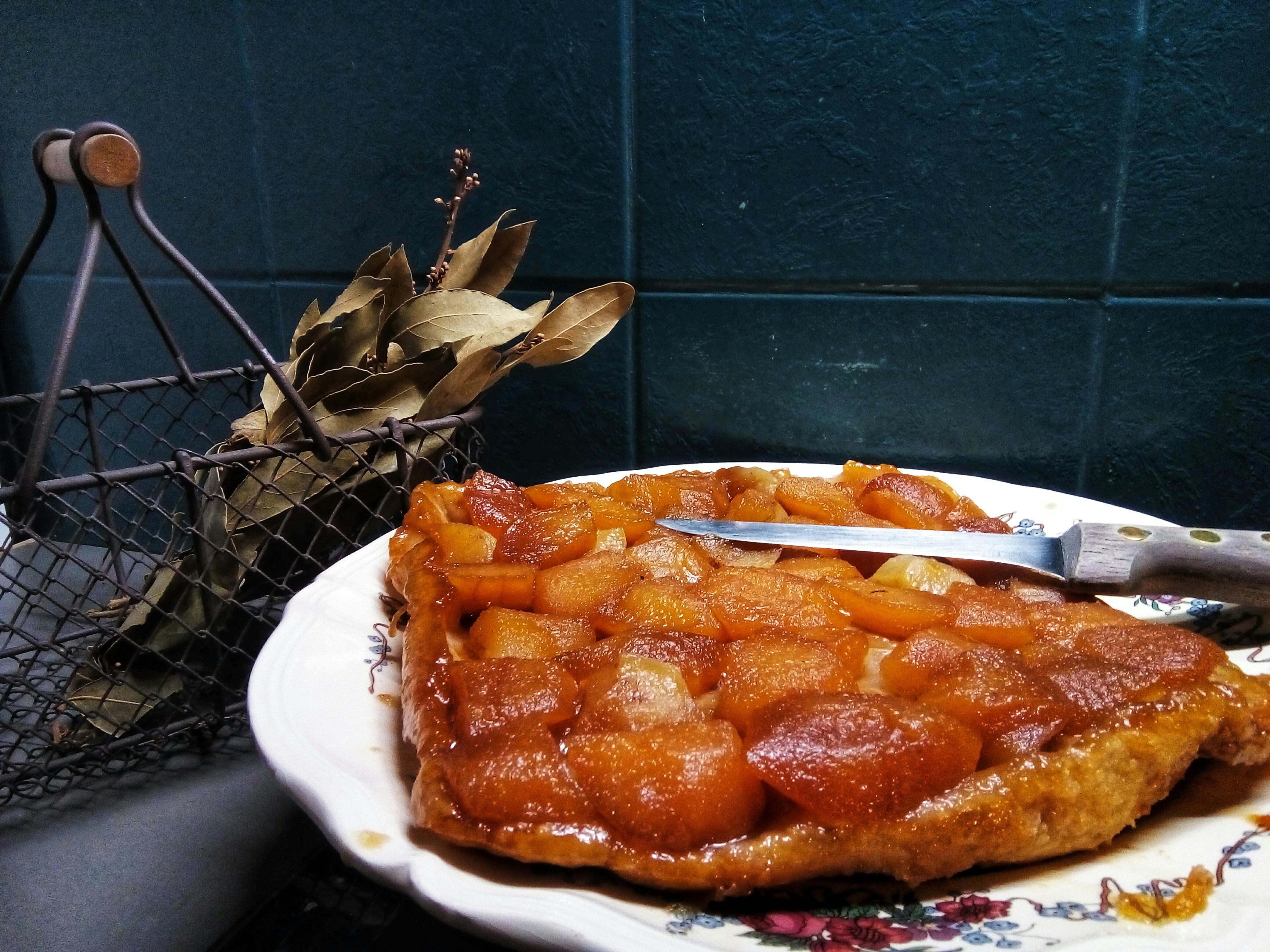 home made tarte tatin